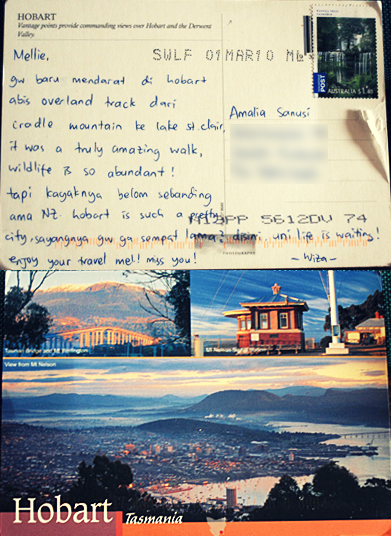 A Postcard from Tasmania