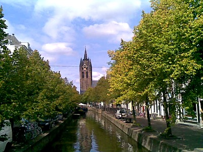 Oude Kerk (The Old Church) in Delft