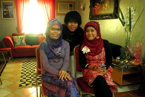 My sis, bro, and I