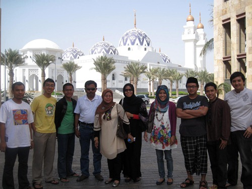 with the Indonesian KAUST students