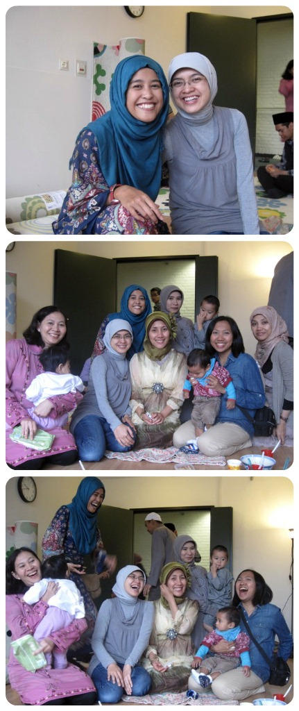 Eid with the Indonesians